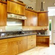 Постер, плакат: Kitchen interior in luxury house Real estate in WA