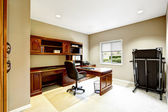 Practical interior design. Office room — Stock Photo
