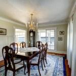 ������, ������: Elegant carved wood dining table set