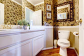 Beautiful restroom in luxury house — Stock Photo