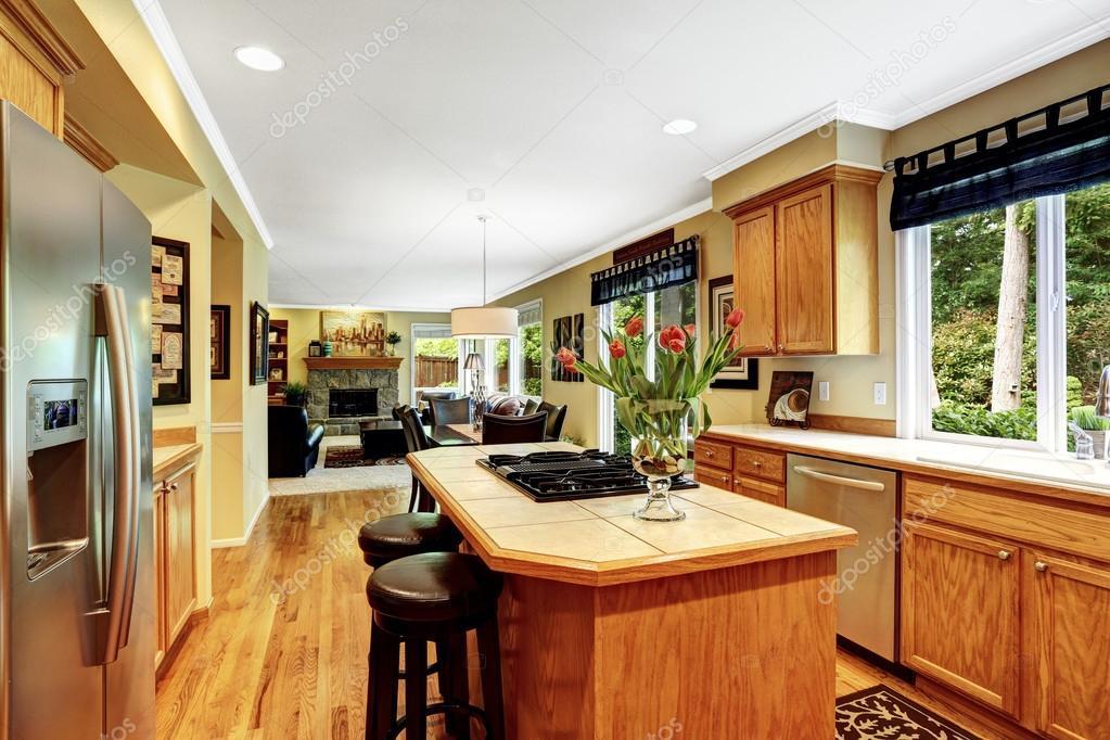 luxus haus innen k che stockfoto iriana88w 53998671. Black Bedroom Furniture Sets. Home Design Ideas