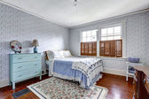 Old fashion bedroom interior — Stock Photo