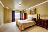 Spacious master bedroom interior  — Stock Photo