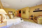 Very cozy master bedroom interior  — Stock Photo
