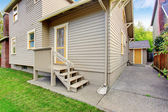 House with small deck  — Stock Photo