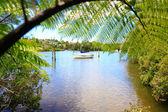 Beautiful water view in New Zealand. — Stock Photo