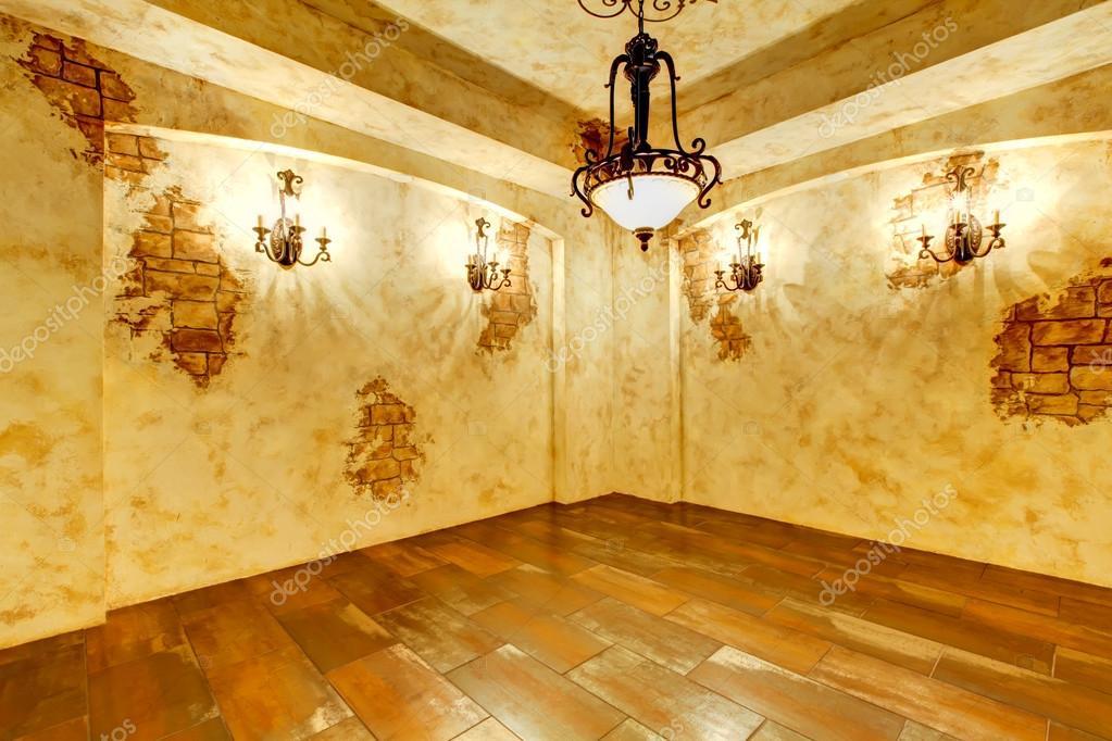 Int rieur lumineux de maison avec des fausses briques photographie iriana88 - Fausse brique interieur ...
