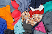 Wrinkled clothes — Stock Photo