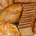 Whole wheat bread — Stock Photo #69209117
