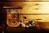 Whisky på klipporna — Stockfoto