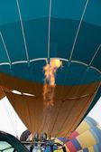 Balloon Flame — Stock Photo