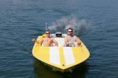 Speedboat Fun — Stock Photo