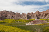 Badlands Mountain Formations — Stock Photo