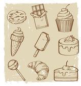 Sweet seamless — Vector de stock