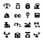Scales icon — Vetorial Stock