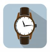 Watch icons — Stock Vector