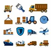 Logistic and shipping — Vector de stock