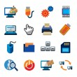 Computer icons — Stock Vector #63503005