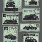 ������, ������: Vintage style retro cars