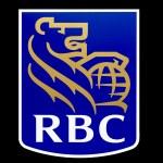 Постер, плакат: Royal Bank of Canada Logo RBC logo