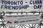 Friendship Day Between Toronto and Cuba — Stock Photo