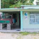Cuba Image- Peugeot 404 Body Kept at a House.jpg — Stock Photo #52975011