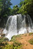 Contryside Waterfalls in El Nicho, Cuba — Stock Photo