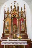 Roman Catholic Altar in Church — Stock Photo