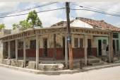 Private House under construction in Cuba — Stock Photo