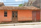 Colonial facades in Santa Clara, Cuba — Stock Photo