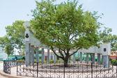 Santa Clara Foundation Monument — Stock Photo