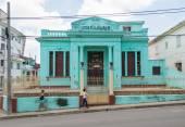 Cuban Fraternity Lodge Facade — Stock Photo