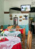 Restaurant El Alba en Santa Clara,Cuba — Stock Photo
