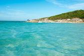 Idyllic Beautiful Blue Water Beach in Cuba — Stock Photo