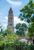 Manaca Iznaga Tower in Valle de los Ingenios,Cuba — Stok fotoğraf