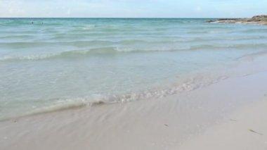 Beach in Cuba — Stock Video
