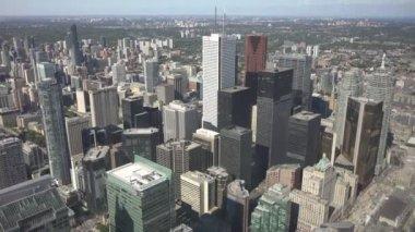 Downtown Toronto cityscape — Stockvideo