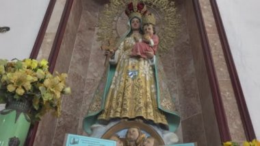 Our Lady of Charity of El Cobre — Stock video