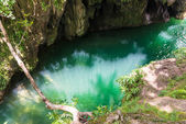 Clear water river — Stock Photo