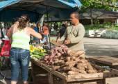 Street sellers of food — ストック写真