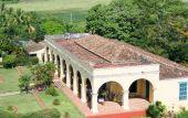 The house in El Valle de los Ingenios — Stock Photo