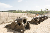 Old guns monument in Cuba — Stock Photo