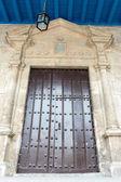 Vintage Colonial Door in Old Havana — Stock Photo
