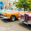Old American cars in Cuba — Stock Photo #61101639