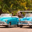 Old American cars in Havana — Stock Photo #61102207