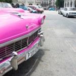 Old American car in Cuba — Stock Photo #61102569