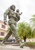 Che Guevara statue in Cuba — Stok fotoğraf