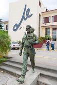 Che Guevara statue in Cuba — Stock Photo