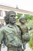 Che Guevara statue in Cuba — Stock Photo