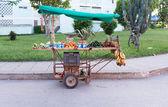 Neighborhood food stand — Stock Photo